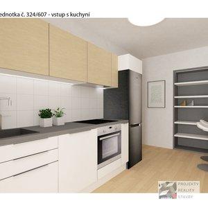 Prodej, Byty 2+1, 48,1m² - Brno-Královo pole, ulice Staňkova