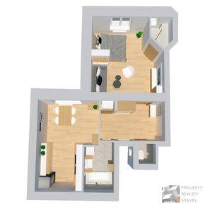 Prodej, Byt 2+kk, 55m² - Brno - Královo Pole, ulice Dobrovského