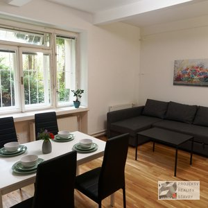 Pronájem, Byt 2+kk, 42m² - Brno - Veveří, ulice Smetanova