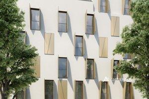 Prodej, luxusní novostavby mezonetového bytu, balkón, terasa, 2 koupelny, město Vídeň, Rakousko, Ev.č.: 29179-2