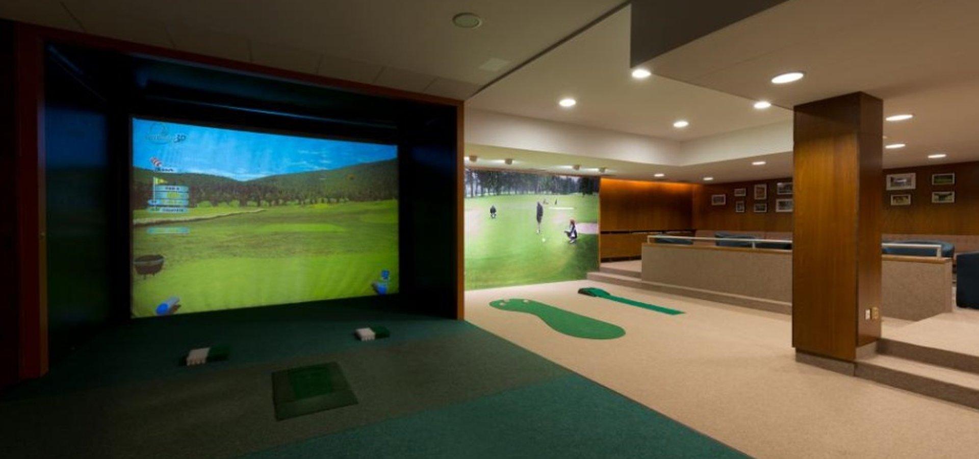 Svratka golfový simulátor