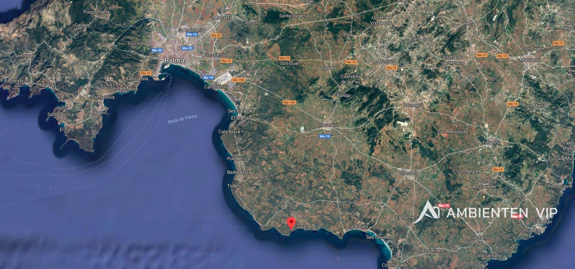 mapa Mallorca