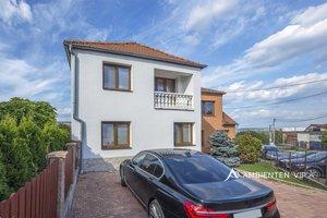 Prodej rodinného domu 153 m², pozemek 455 m², bazén a parkování na vlastním pozemku, Ořechovská, Brno-město, Ev.č.: 29549