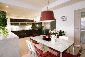Prodej moderního bytu 3+kk v novém rezidenčním bydlení Meandr, garážové stání, sklep, ihned k nastěhování, bezbariérový, Brno – Komín,, Ev.č.: 29617