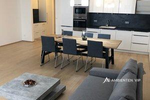 Pronájem luxusně zařízeného bytu 4+kk, 118 m², 2x vlastní parkovací stání, lodžie 10 m², skep 11 m2 - Brno - Veveří, Ev.č.: 29637