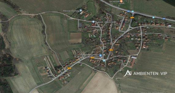 Vranová u Letovic Mapa