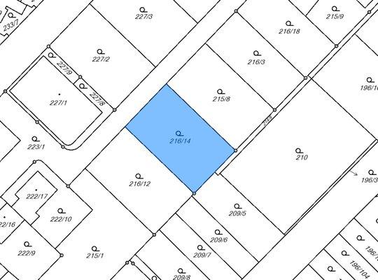 Prodej, Pozemky pro bydlení, 667m² - Brno - Sadová