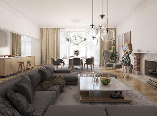 Prodej, Byty 8, 161m² - Brno-město