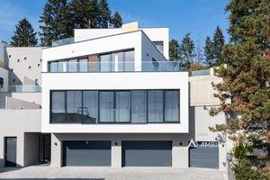 Prodej luxusního bytu o celkové dipozici 4+kk, užitná plocha 193 m2, terasa 49 m2, 2x garážové stání, 1x venkovní stání, 2x sklep, Brno - Nový Lískovec, Ev.č.: 29761