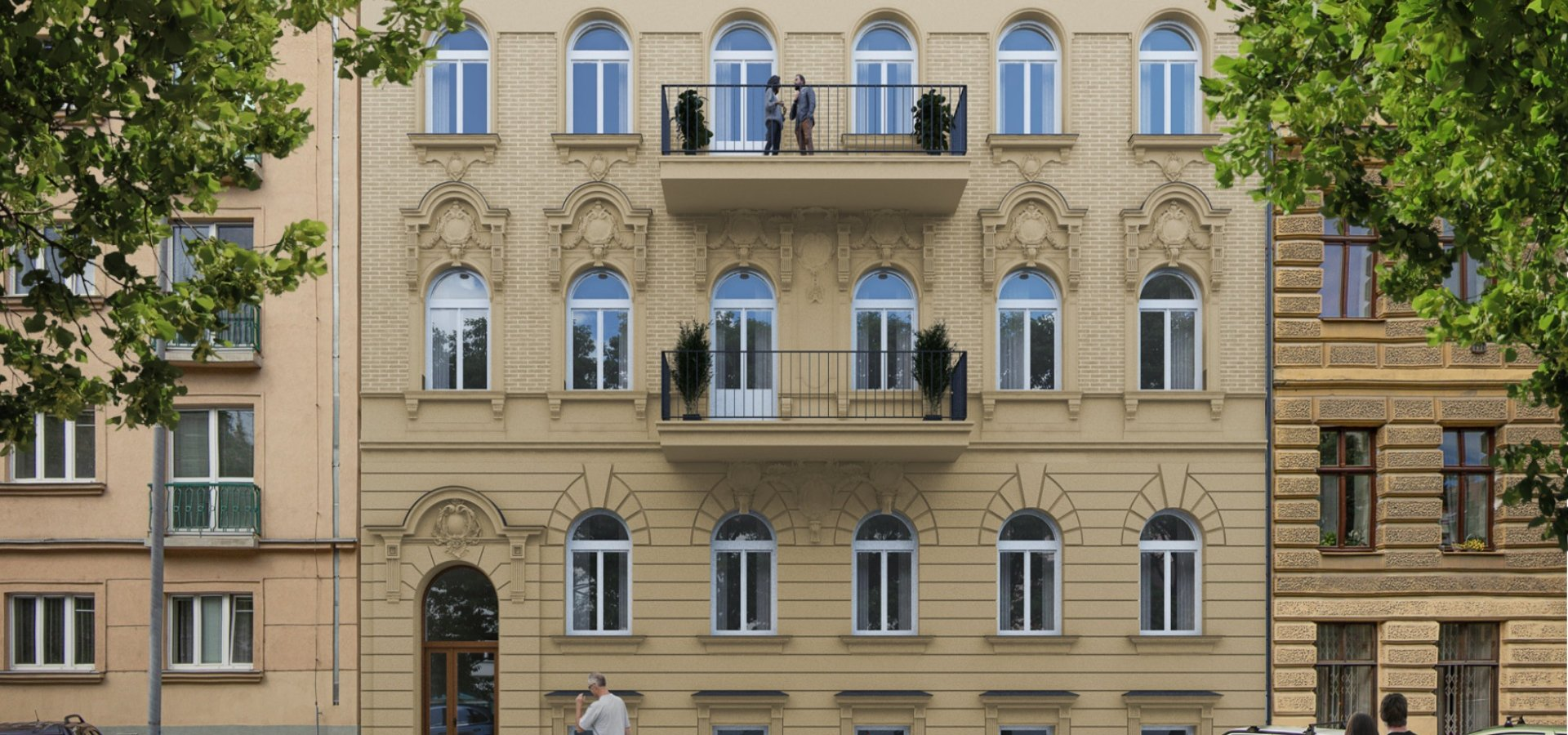 Bytový dům Jaroška