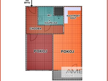 Prodej, Byty 2+kk, 52m² - Frýdek-Místek - Frýdek, ul. Pekařská