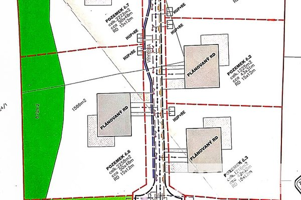 Prodej, Pozemek pro bydlení, 2.309m² - Petrovice u Karviné