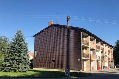 Prodej patrového bytu, domu 3+1, s garáží, zahrádkou i půdou, 134 m2, Osová Bítýška, Ev.č.: 00028