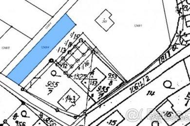 Prodej, stavební parcela, 969 m², Jinošov, okr. Třebíč, Ev.č.: 00053