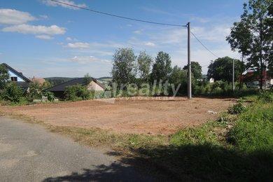 Prodej stavebního pozemku 613 m2, Rousměrov, okr. Žďár nad Oslavou, Ev.č.: 00151
