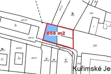 Prodej parcely, 858 m², Kuřimské Jestřabí, Ev.č.: 00518