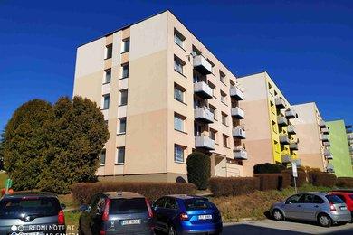 Prodej bytu 2+1 s balkonem, 67 m2, Dačice, Ev.č.: 00546