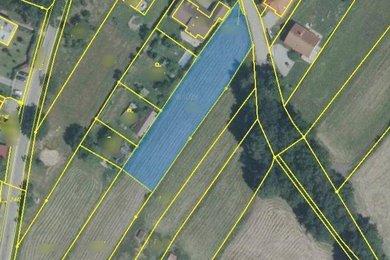 Prodej pozemků pro bydlení 5321m² - Trhové Sviny, Ev.č.: 00880