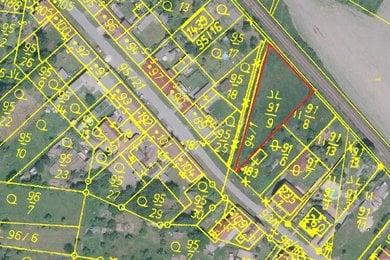 Prodej pozemku 1.562 m2, Heřmaň u Písku, Ev.č.: 00951