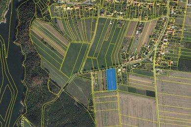 Prodej pozemku 4.892 m2, Hartvíkovice, okres Třebíč, Ev.č.: 00964