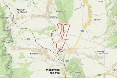 Prodej souboru pozemků 7.927 m2, Radišov, Staré Město, okres Svitavy, Ev.č.: 01032