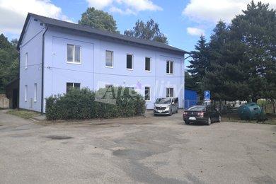 Prodej výrobního objektu v Dobroníně u Jihlavy (možno kombinovat i s bydlením), Ev.č.: 01203
