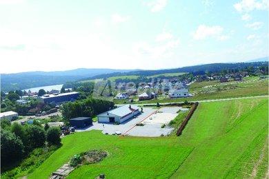 Prodej pozemku pro komerční výstavbu 1712m² - Frymburk, Ev.č.: 01240