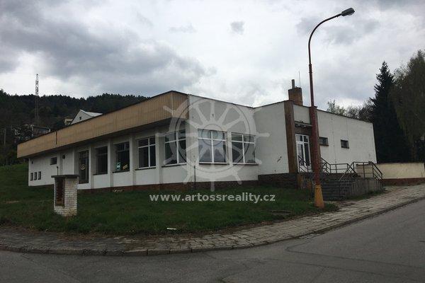 Pronájem, skladové prostory, ulice Alešova, Blansko, CP 634 m²