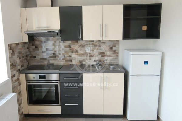 (816) Pronájem novostavby krásného bytu s balkonem 1+kk, 35m², ul. Mostecká - Brno - Husovice
