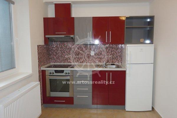Pronájem novostavby krásného bytu (827) s balkonem 1+kk, 35m², ul. Mostecká - Brno - Husovice