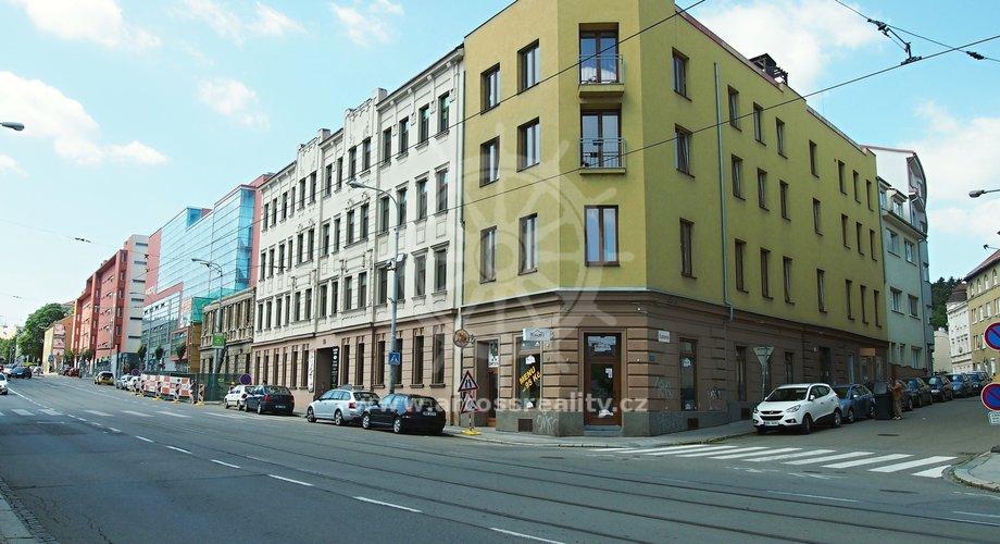 Prodej nebytových prostor Vídeňská ul. / Kamenná ul., Brno