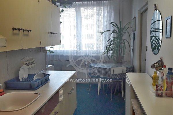 Prodej bytu 4+1 s balkonem, Brno - Slatina, ul. Mikulčická, UP 91 m²