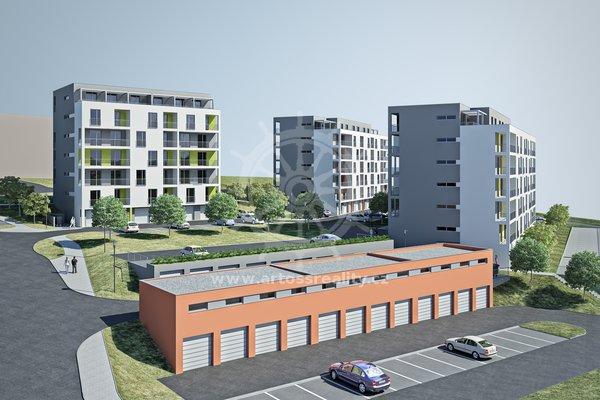 Prodej, byt 2+kk, UP 47,1 m² + terasa 9,3 m2- Blansko, Nad Čertovkou