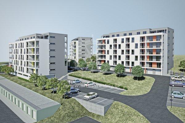 Prodej, Bytu 2+kk, UP 53,4 m² + lodžie 4,2 m2- Blansko, Nad Čertovkou