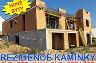 Prodej novostavby bytu 3+kk s balkonem a zahradou, Rosice, UP 77 m2