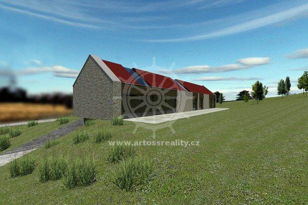 Prodej, pozemek pro bydlení, Lažánky, Blansko, CP 3908 m²