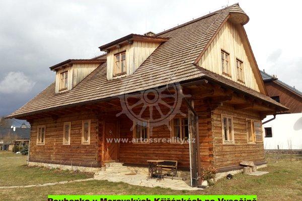 Pronájem  krásné vybavené Roubenky v centru Vysočiny, 120m², Moravské Křižánky