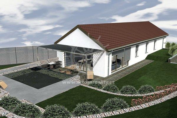 Atraktivní stavební pozemek pro stavbu samostatně stojícího domu, obec Borkovany, výměra 1359m2