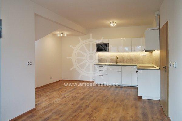 Pronájem bytu 2+kk s balkonem, Rezidence Jabloňový sad - Moravany u Brna, UP 65 m²