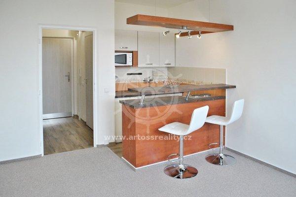 Pronájem bytu 1+kk, Halasovo nám., Brno Lesná, UP 26 m²