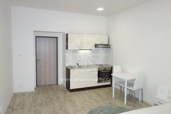 Pronájem, novostavba, Vybavený byt 1+kk, 33m² - Brno, Bratislavská ul.