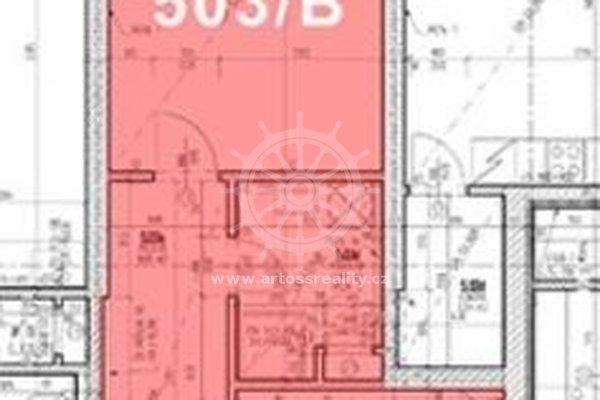 (503B) Pronájem, Byt 1+1, 41 m² - Brno - Zábrdovice, ul. Bratislavská