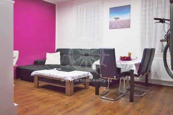 Prodej bytu 2+1, Brno-Kr. Pole, ul. Florianova, UP 53,6 m² + terasa 16 m²