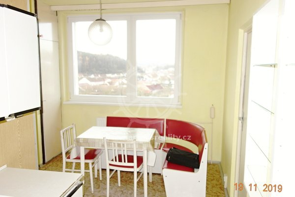 Prodej, byt 3+1, UP 71 m2 + balkon 5 m² - Kuřim, Na Loučkách