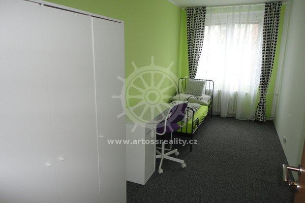 Pronájem vybaveného pokoje na ulici Spodní, Brno - Bohunice, CP 12,1m²