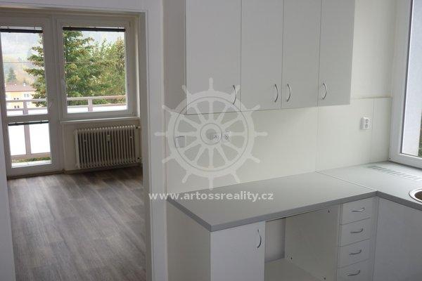 Pronájem, byt 1+1, ulice Bezručova, Blansko, centrum, CP 30 m²