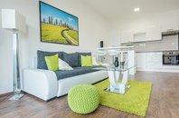 (601A) Pronájem, luxusně zařízený byt 2+kk se 2 terasami , parkovaní zdarma, v centru, Brno, ul. Bratislavská, UP 52 m2