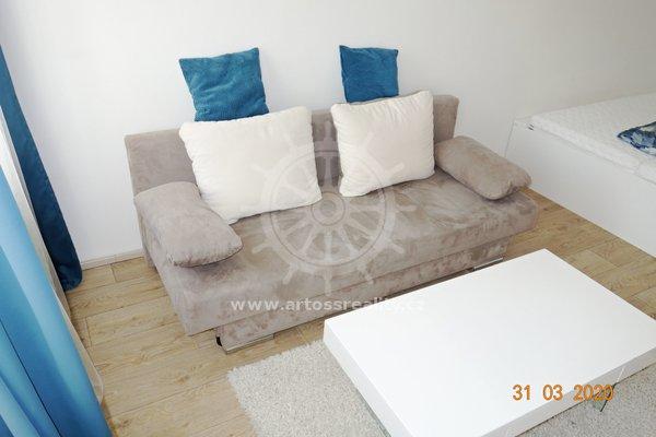 (105B) Pronájem novostavby vybaveného bytu 1+kk, 29m², Brno - Zábrdovice, ul. Bratislavská
