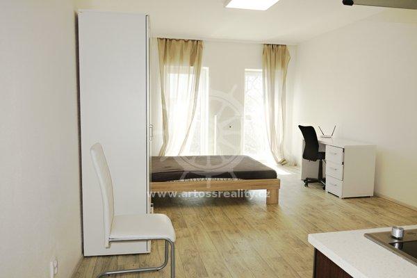 (B505) Pronájem, moderně zařízený byt 1+kk, 38 m² - Brno - ul. Bratislavská