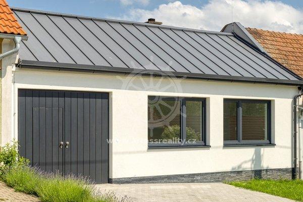 Prodej, novostavby rodinného domu, se zahradou, CP 528 m² - Rouchovany